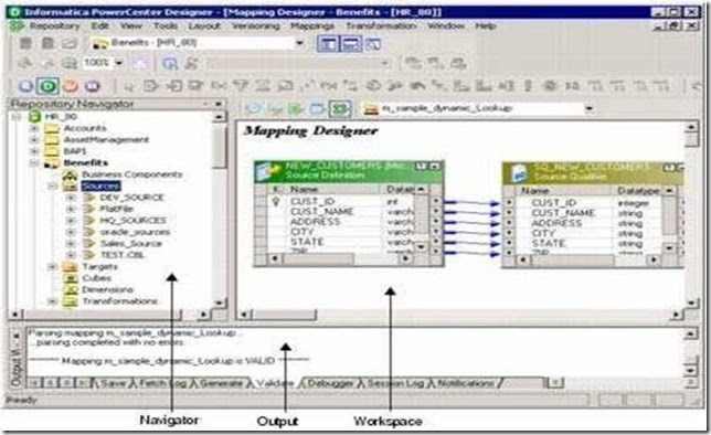 complete reference to informatica  powercenter client